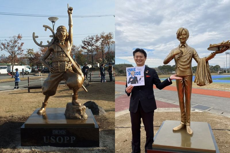 Link a one-piece-statue-kumamoto