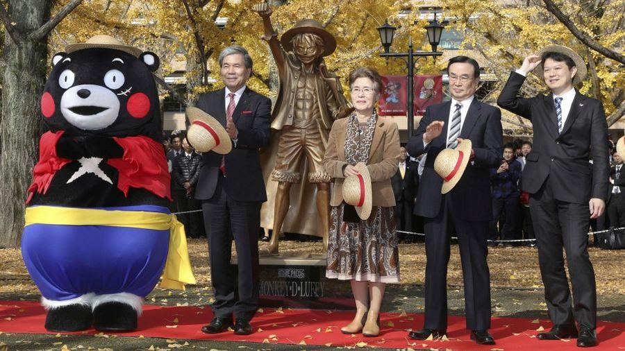 Link a statua-rufy-kumamoto