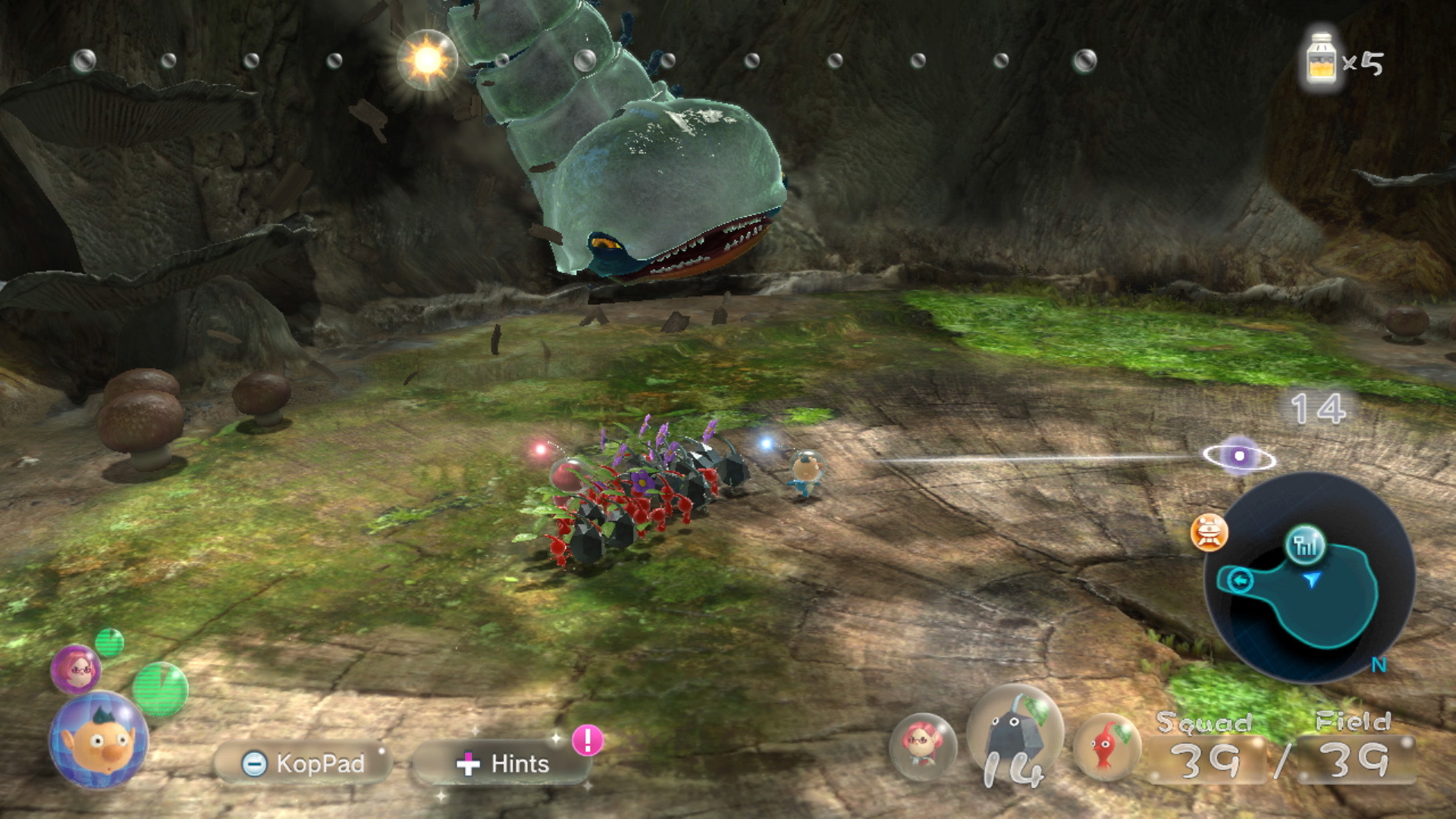 Link a Pikmin3Deluxe_scrn_018