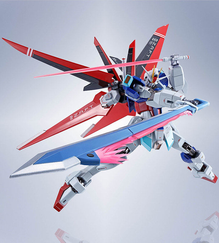Link a Force Impulse Gundam – ZGMF-X56S – Metal Robot – Bandai – (1)