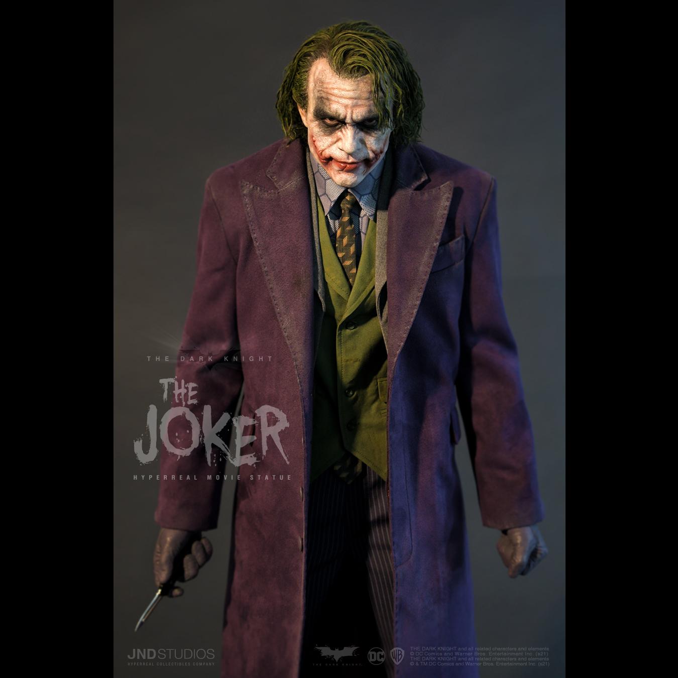 Link a JND Studios The Dark Knight The Joker Hyperreal Statue – (10)