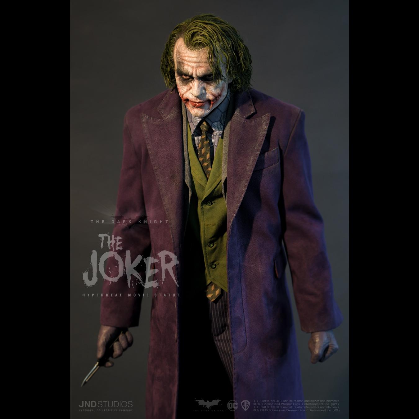 Link a JND Studios The Dark Knight The Joker Hyperreal Statue – (11)
