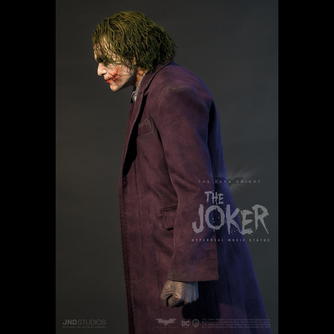 Link a JND Studios The Dark Knight The Joker Hyperreal Statue – (12)