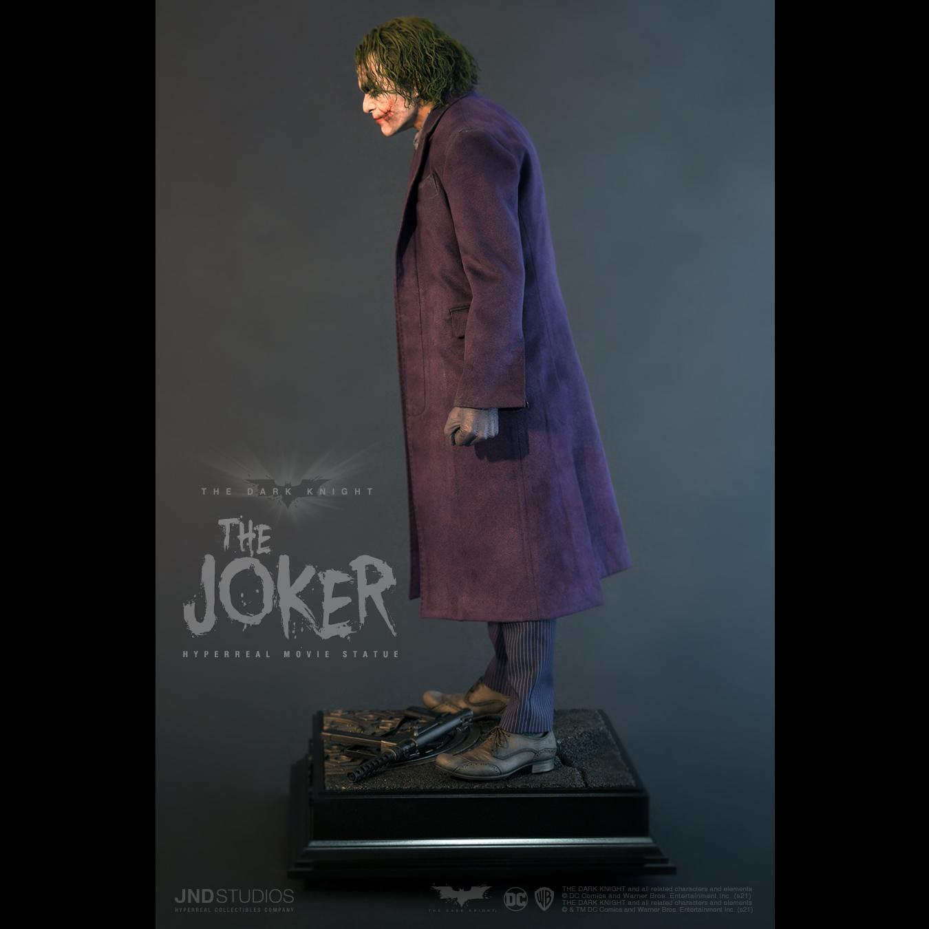 Link a JND Studios The Dark Knight The Joker Hyperreal Statue – (4)
