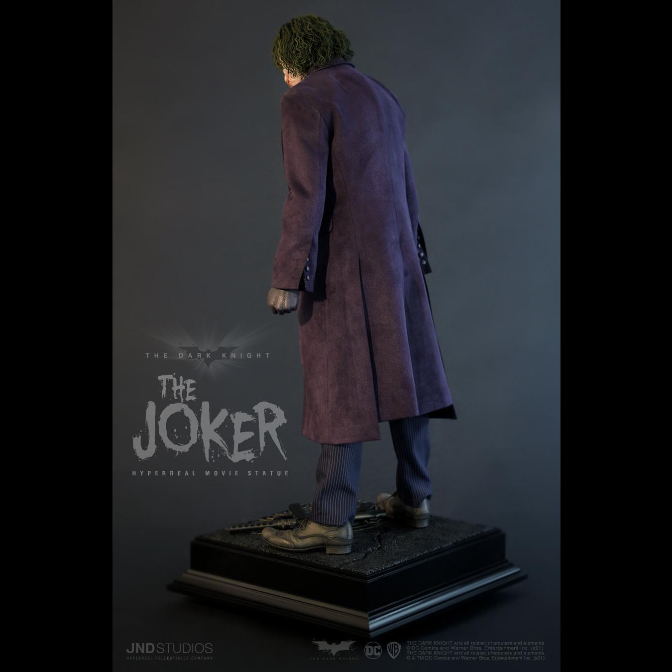 Link a JND Studios The Dark Knight The Joker Hyperreal Statue – (5)