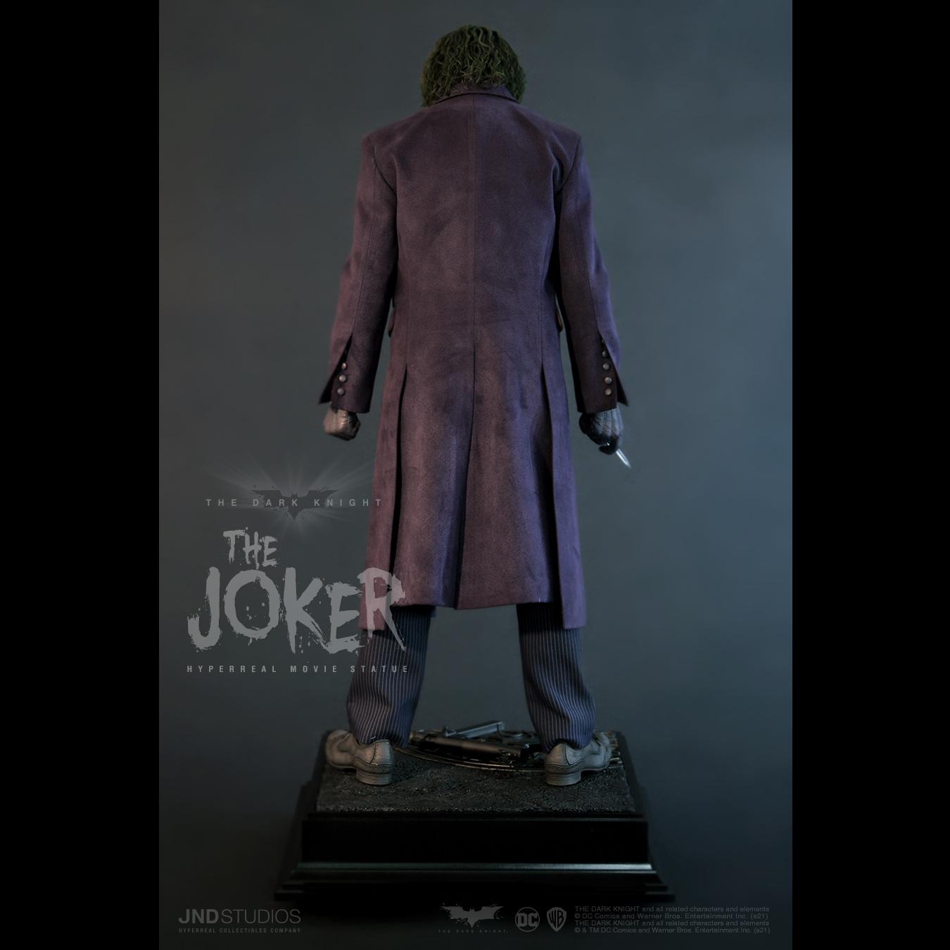 Link a JND Studios The Dark Knight The Joker Hyperreal Statue – (6)