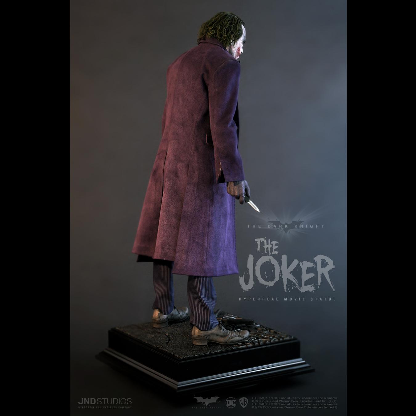 Link a JND Studios The Dark Knight The Joker Hyperreal Statue – (7)