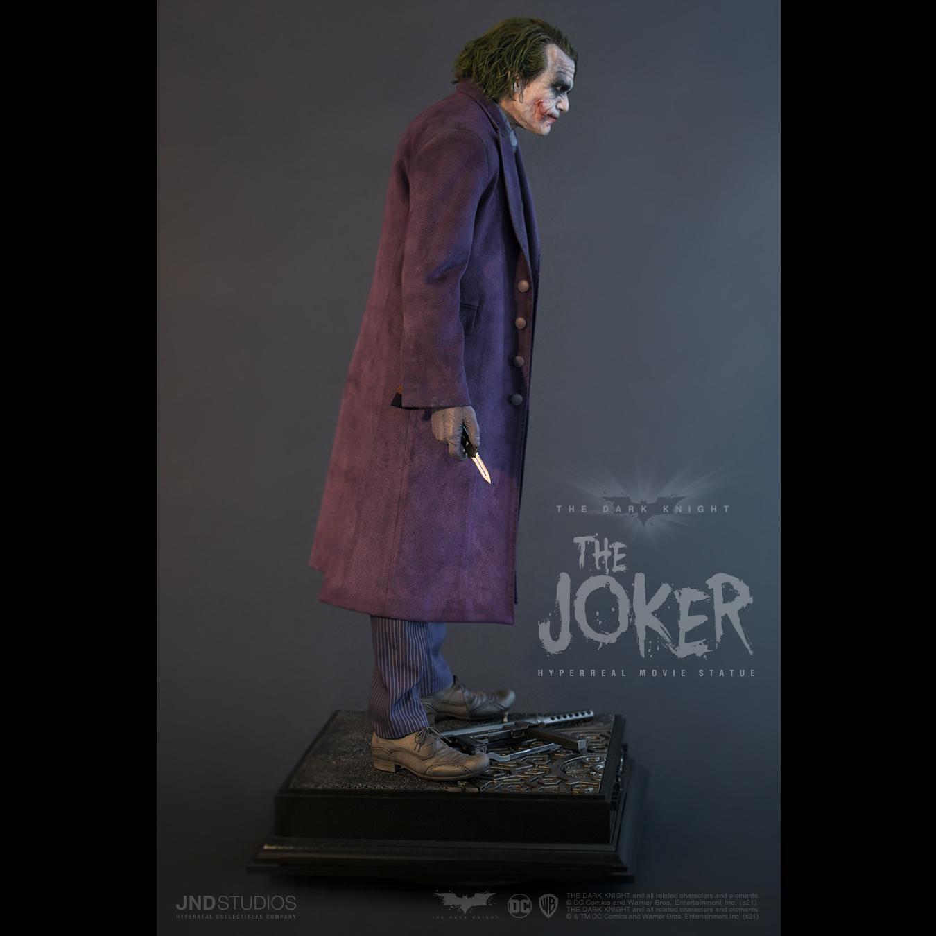 Link a JND Studios The Dark Knight The Joker Hyperreal Statue – (8)