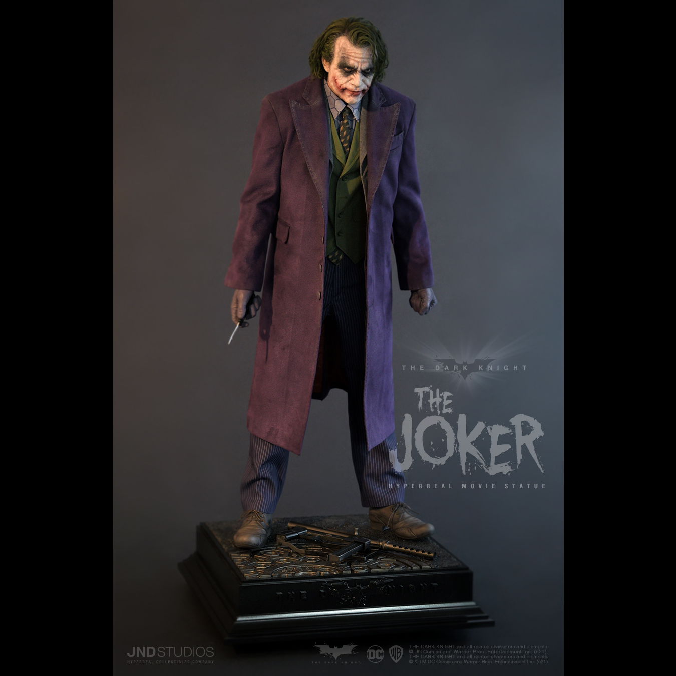 Link a JND Studios The Dark Knight The Joker Hyperreal Statue – (9)