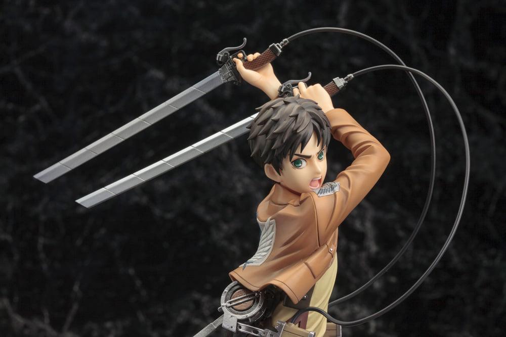 Link a Attack on Titan Kotobukiya Eren Mikasa Resale ARTFX J Shingeki no Kyojin – (30)