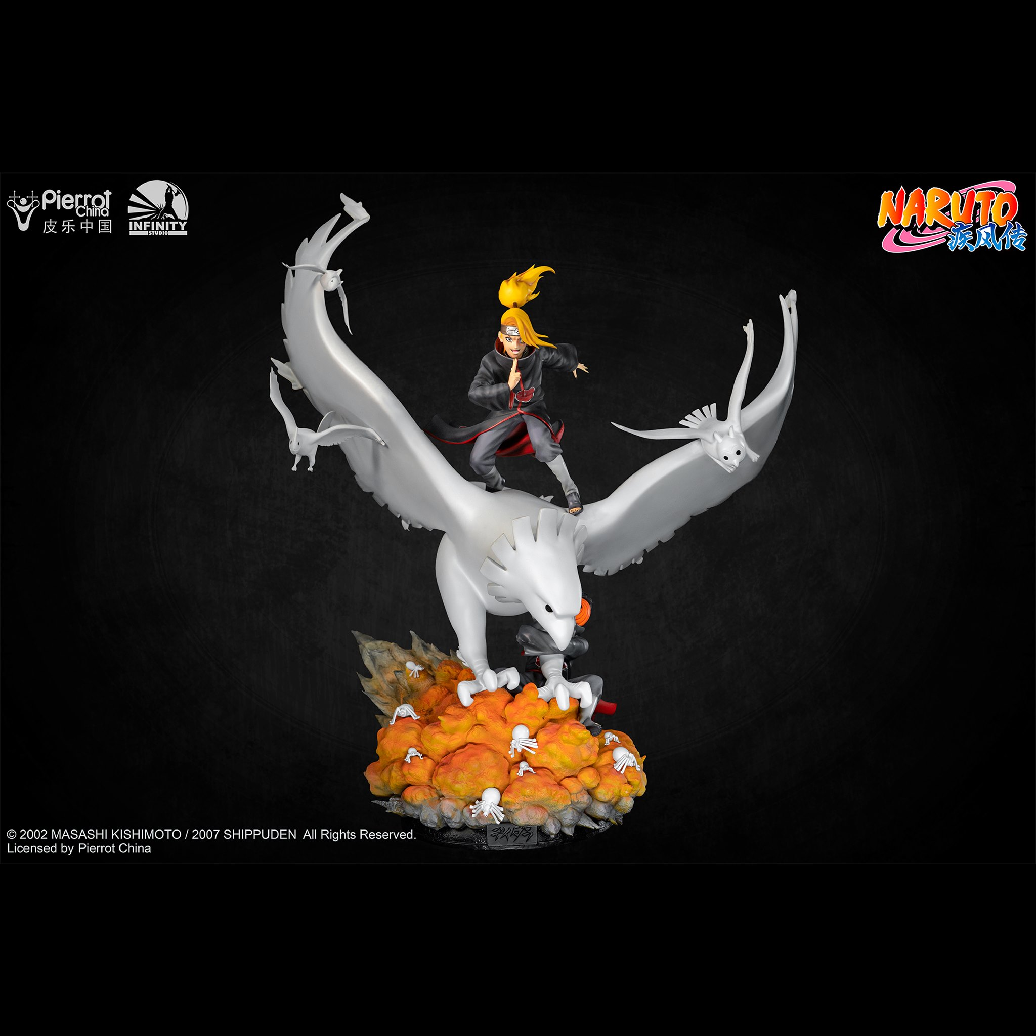 Link a Infinity Studio_Deidara_Statue_Naruto_Preview- (1)