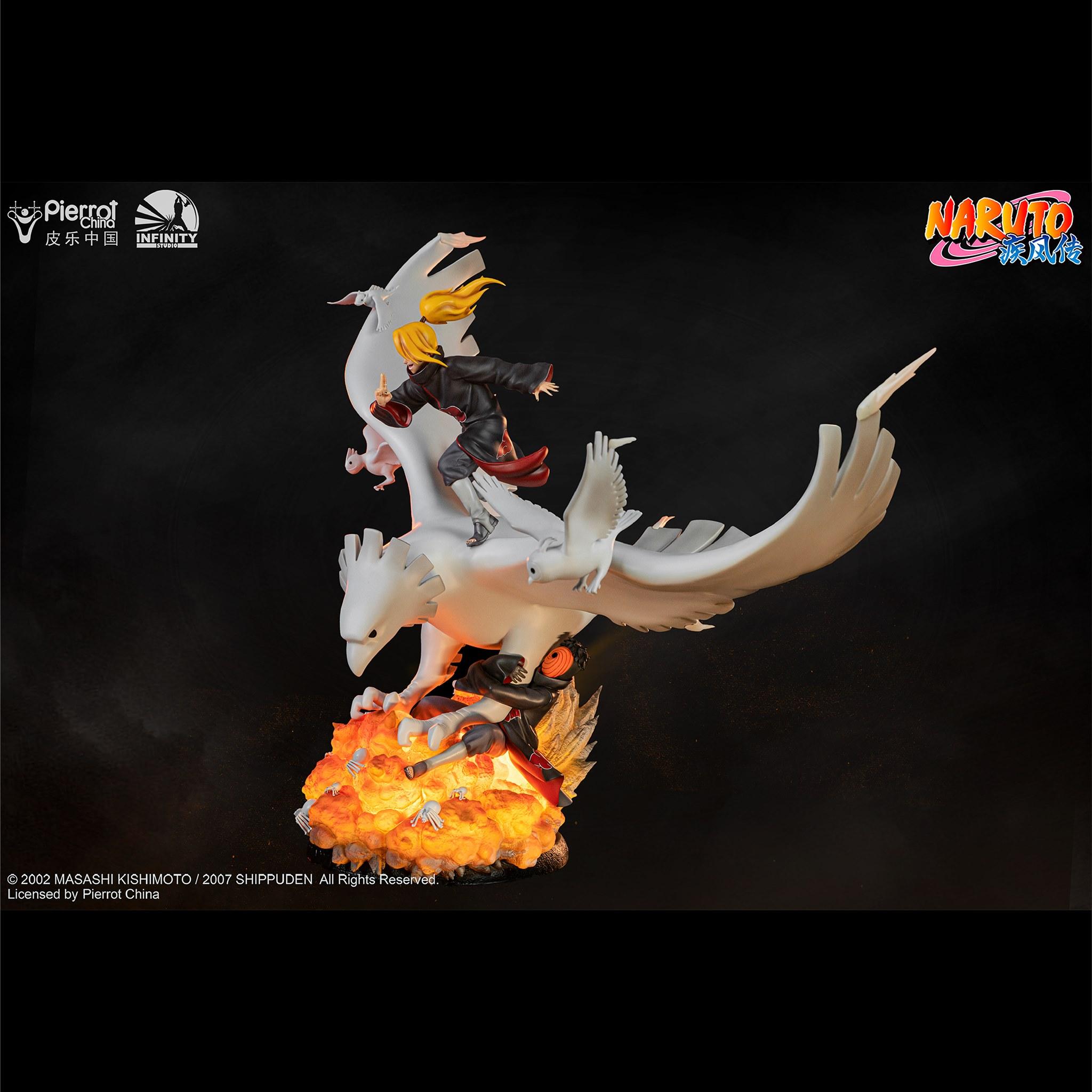 Link a Infinity Studio_Deidara_Statue_Naruto_Preview- (3)