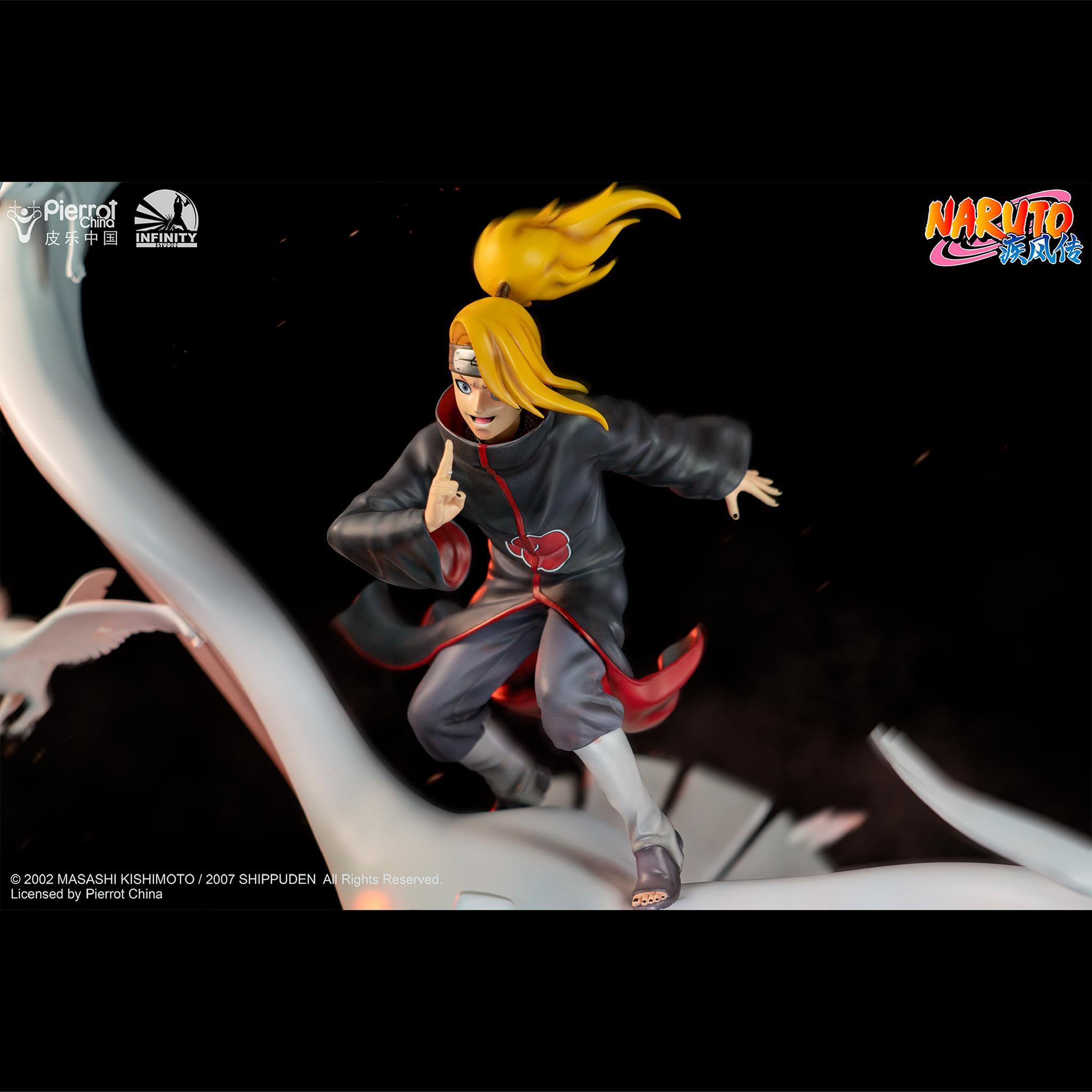Link a Infinity Studio_Deidara_Statue_Naruto_Preview- (4)