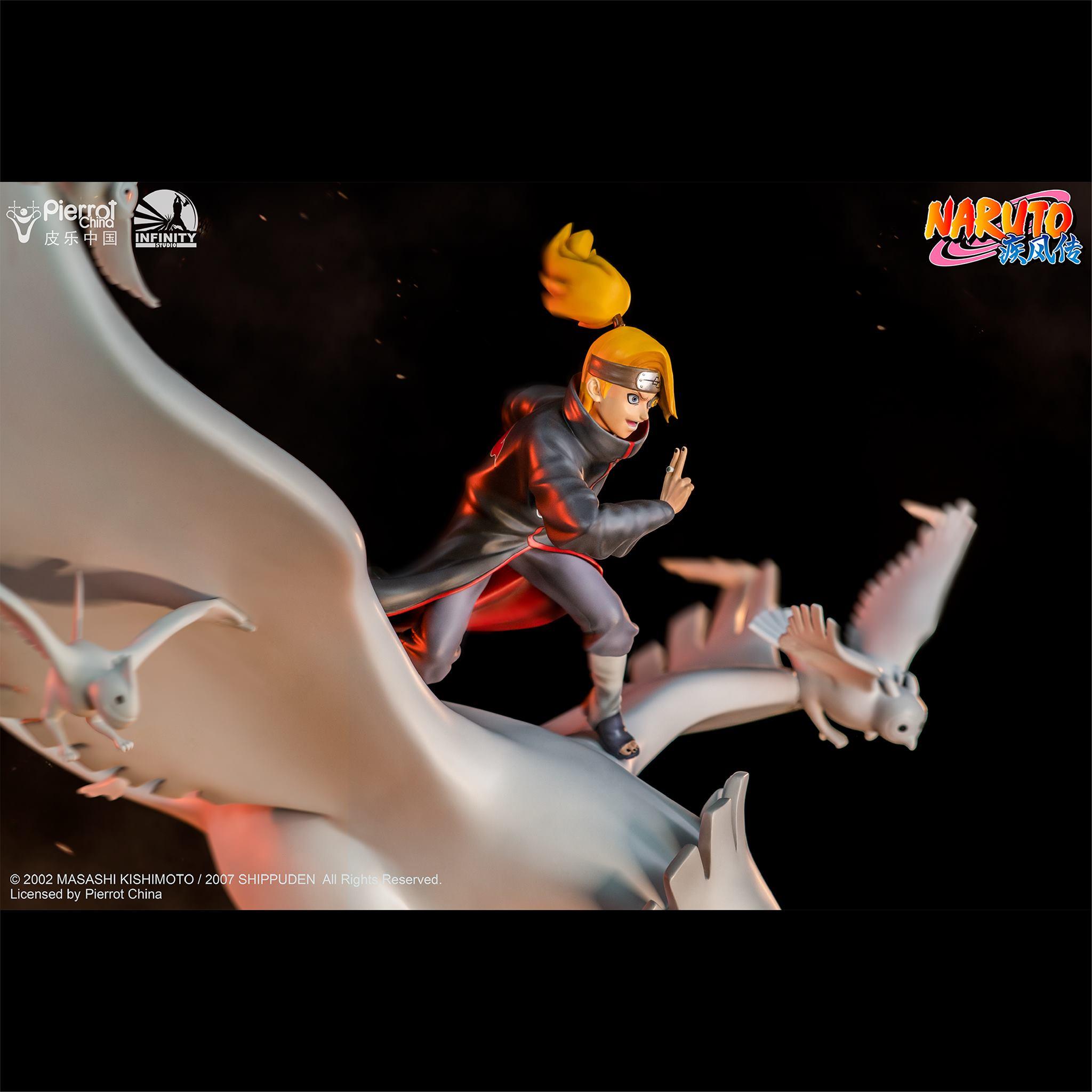 Link a Infinity Studio_Deidara_Statue_Naruto_Preview- (5)