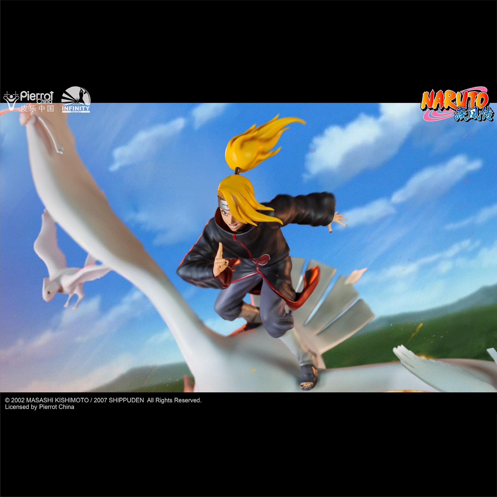 Link a Infinity Studio_Deidara_Statue_Naruto_Preview- (6)