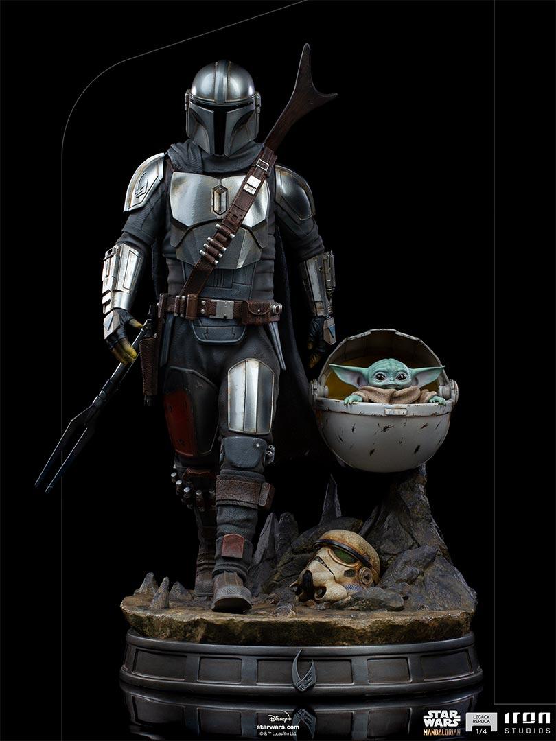 Link a Iron-Studios-Mandalorian-Statue-grogu-legacy replica- (15)