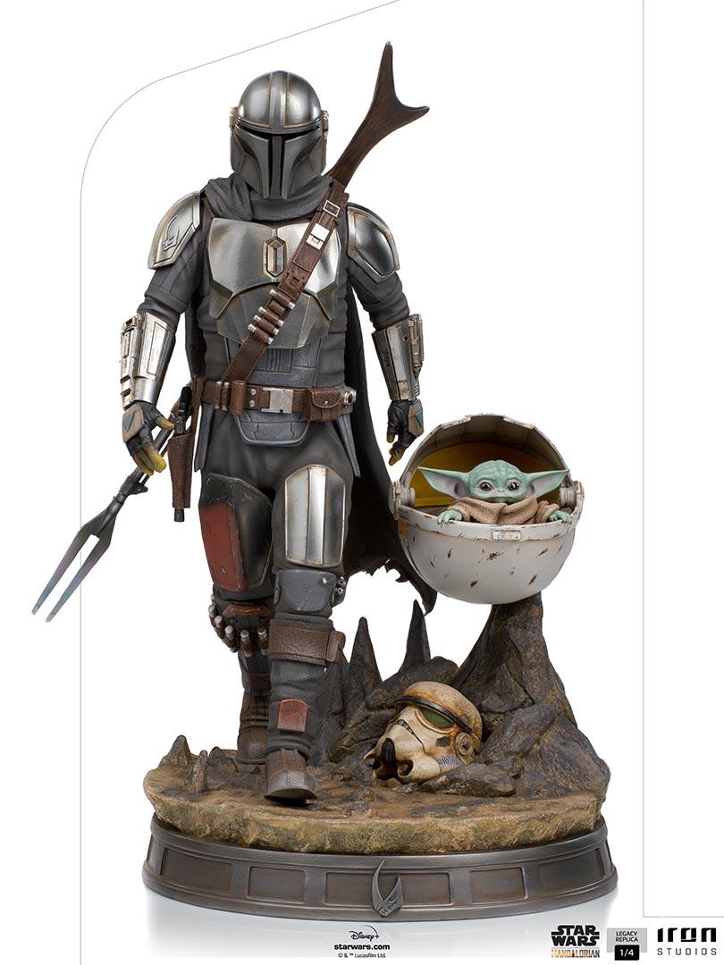 Link a Iron-Studios-Mandalorian-Statue-grogu-legacy replica- (5)