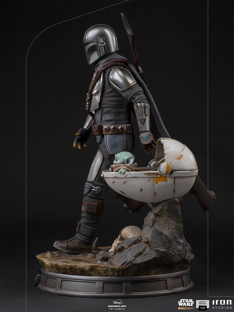 Link a Iron-Studios-Mandalorian-Statue-grogu-legacy replica- (7)