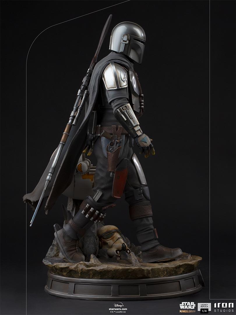 Link a Iron-Studios-Mandalorian-Statue-grogu-legacy replica- (9)