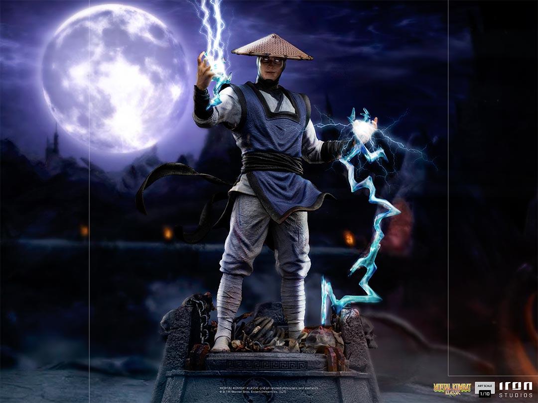 Link a Mortal Kombat_Raiden_Iron_Studios_Statue- (12)