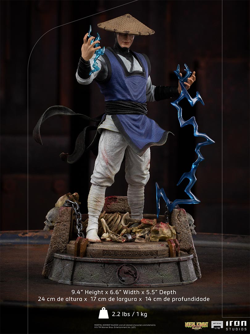 Link a Mortal Kombat_Raiden_Iron_Studios_Statue- (15)