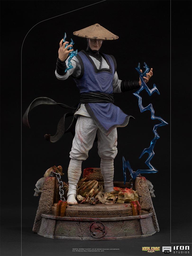 Link a Mortal Kombat_Raiden_Iron_Studios_Statue- (2)