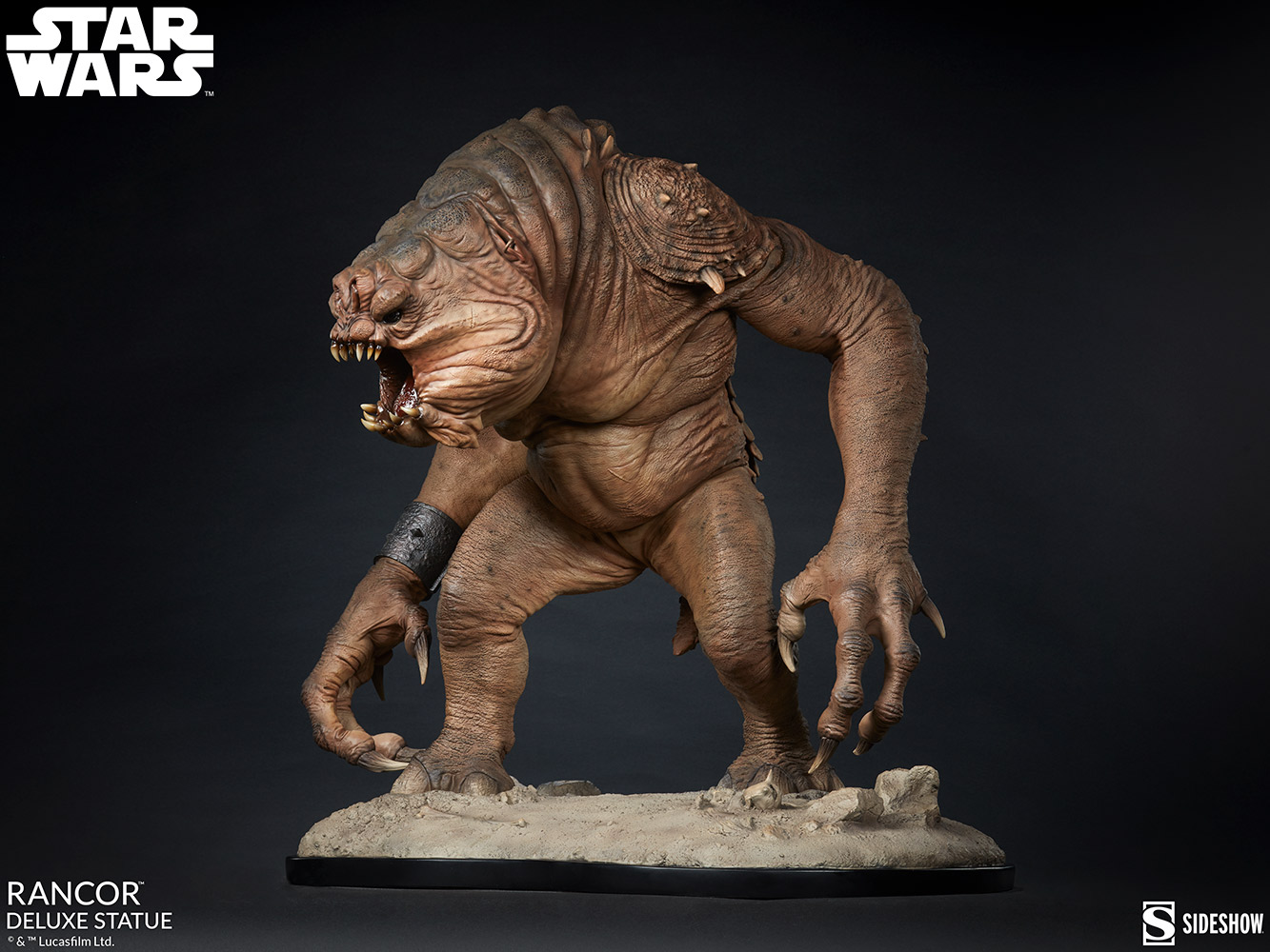 Link a Rancor-Deluxe-Statue-Star-Wars-collectibles-3