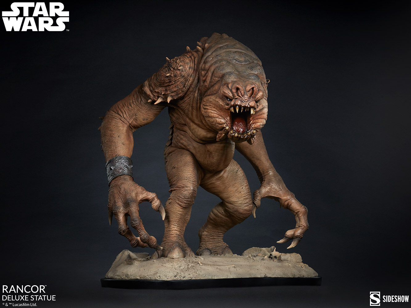 Link a Rancor-Deluxe-Statue-Star-Wars-collectibles-6