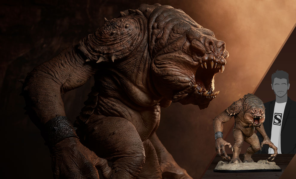 Link a Rancor-Deluxe-Statue-Star-Wars-collectibles-Feature-1