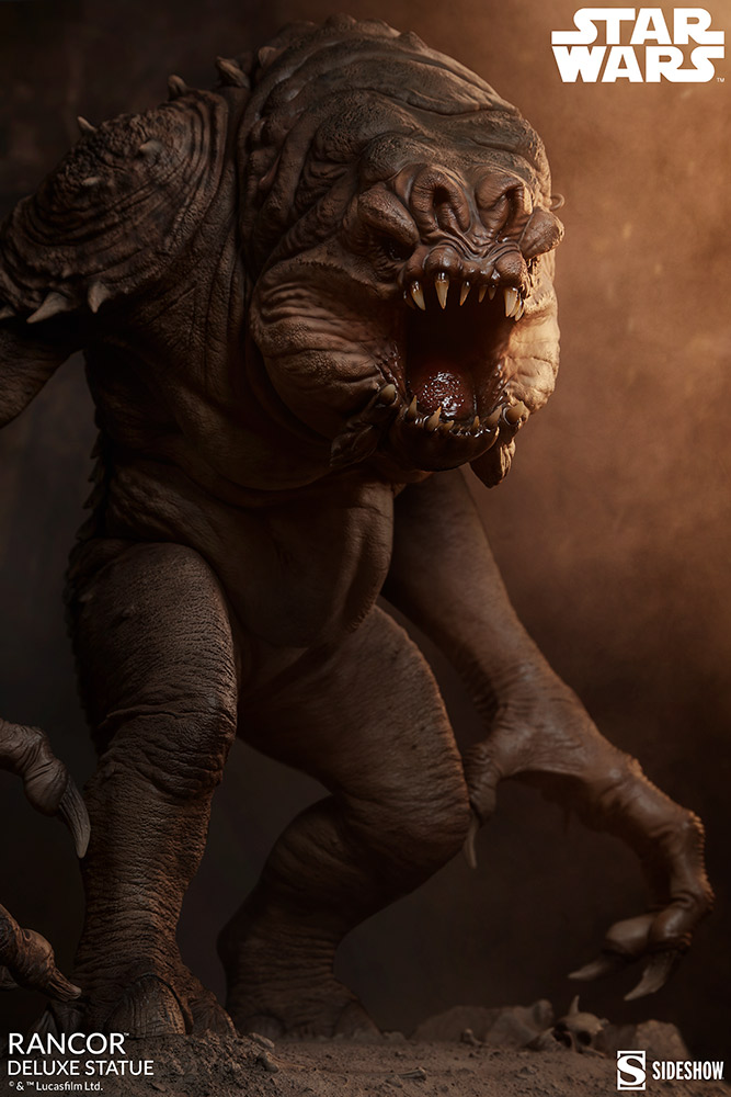 Link a Rancor-Deluxe-Statue-Star-Wars-collectibles-Theater-1
