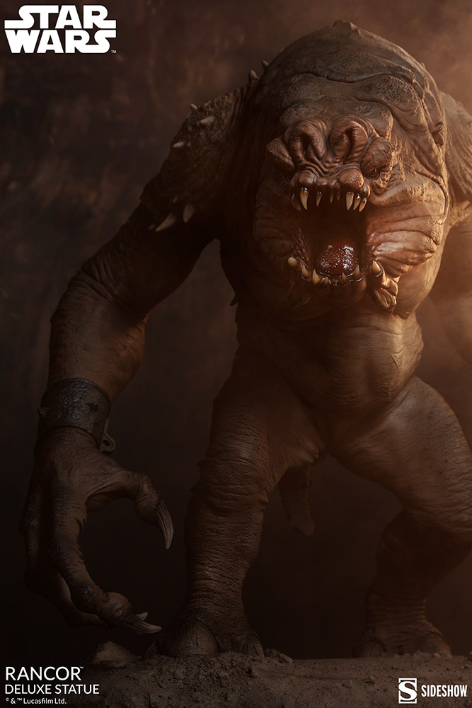 Link a Rancor-Deluxe-Statue-Star-Wars-collectibles-Theater-2