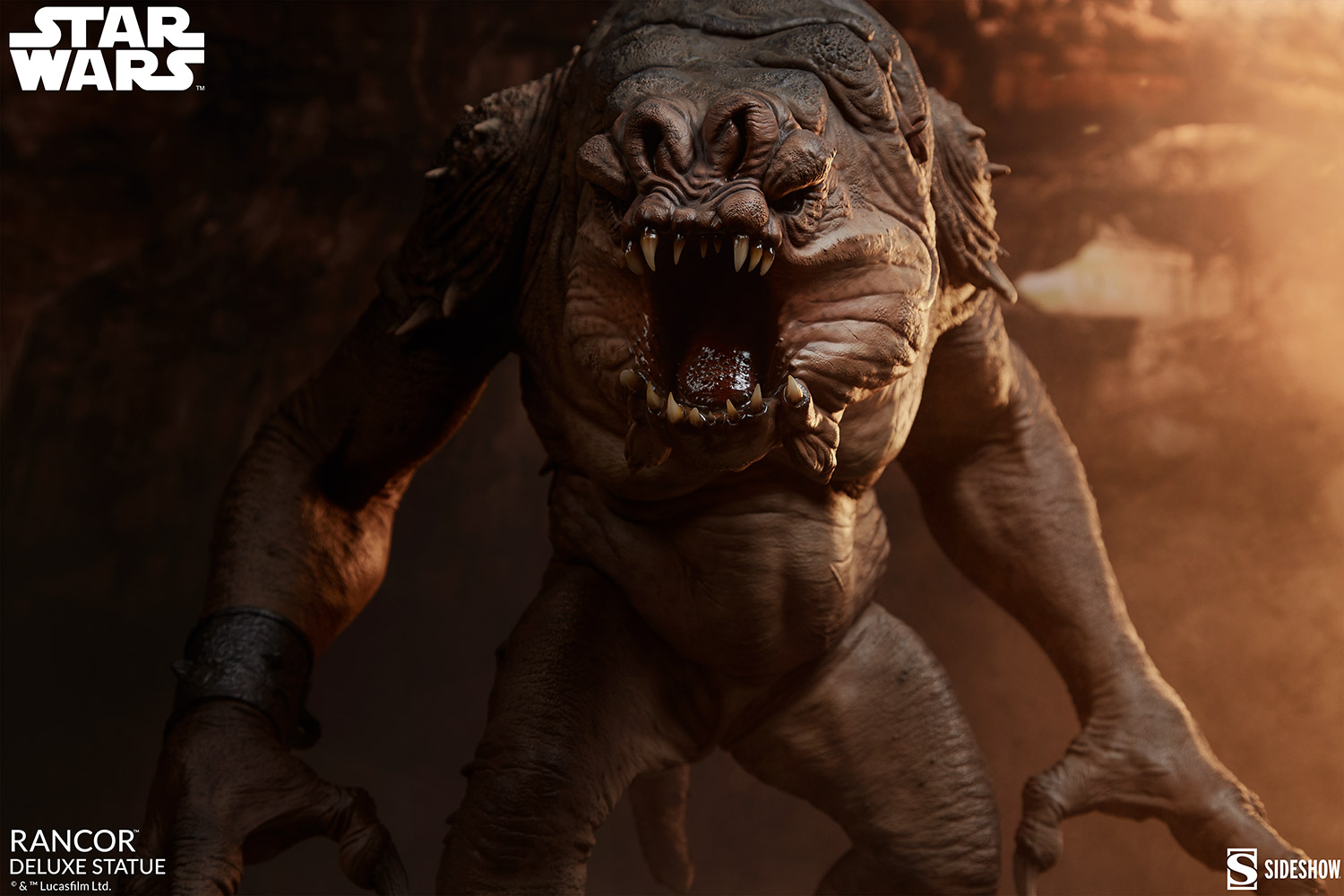 Link a Rancor-Deluxe-Statue-Star-Wars-collectibles-Theater-5