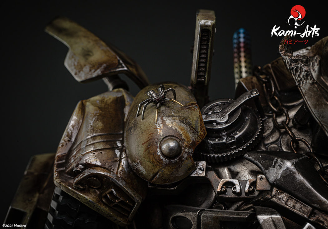 Link a Transformers – Megatron – Kami Arts – Statue – (11)