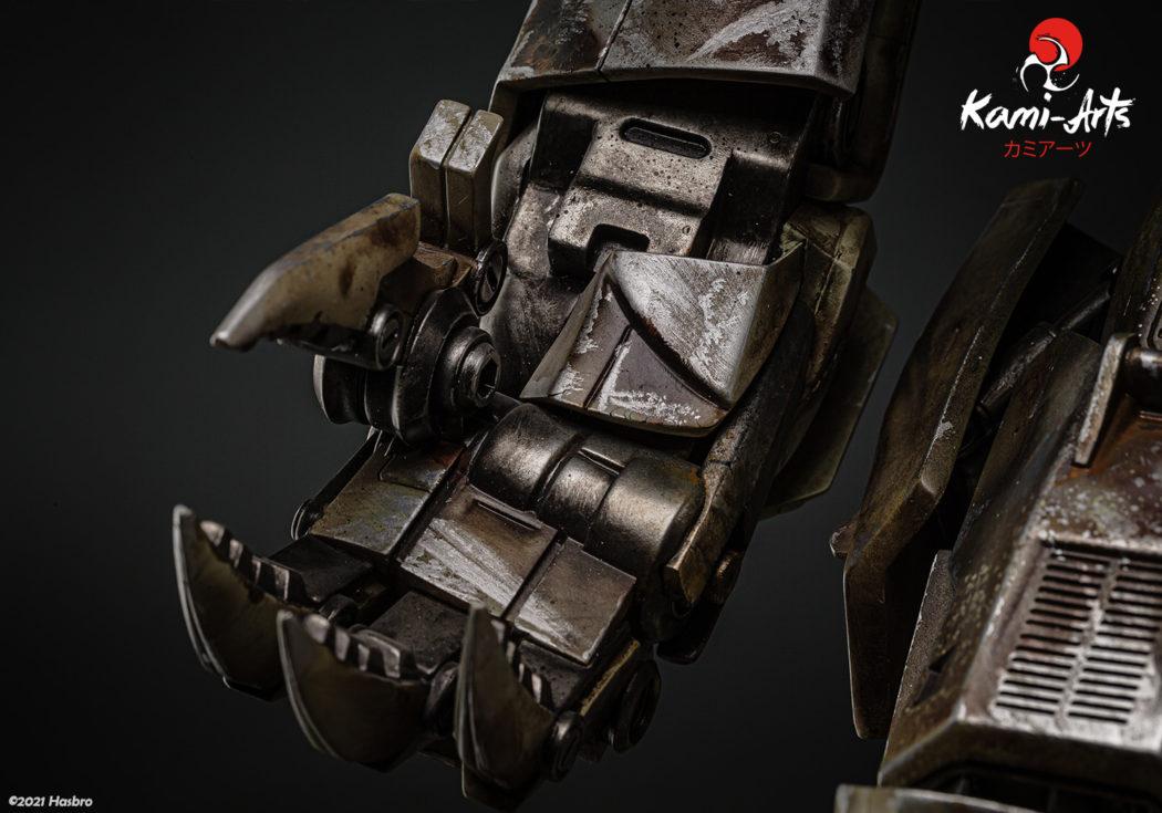 Link a Transformers – Megatron – Kami Arts – Statue – (13)