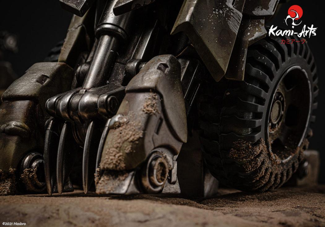 Link a Transformers – Megatron – Kami Arts – Statue – (16)