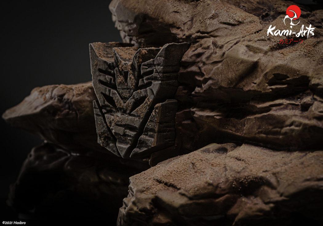 Link a Transformers – Megatron – Kami Arts – Statue – (17)