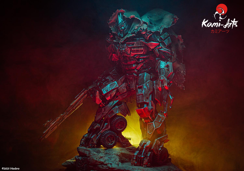 Link a Transformers – Megatron – Kami Arts – Statue – (20)