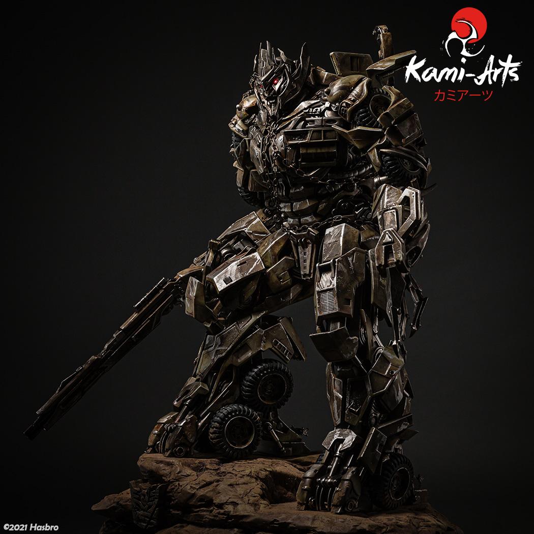Link a Transformers – Megatron – Kami Arts – Statue – (3)
