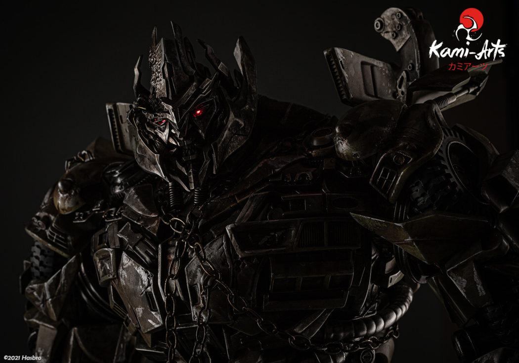 Link a Transformers – Megatron – Kami Arts – Statue – (8)