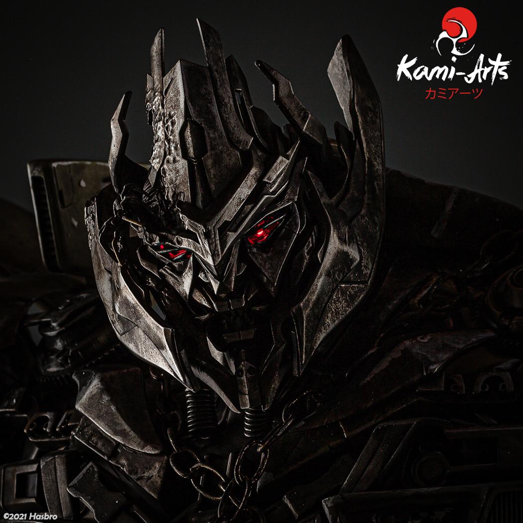 Link a Transformers – Megatron – Kami Arts – Statue – (9)