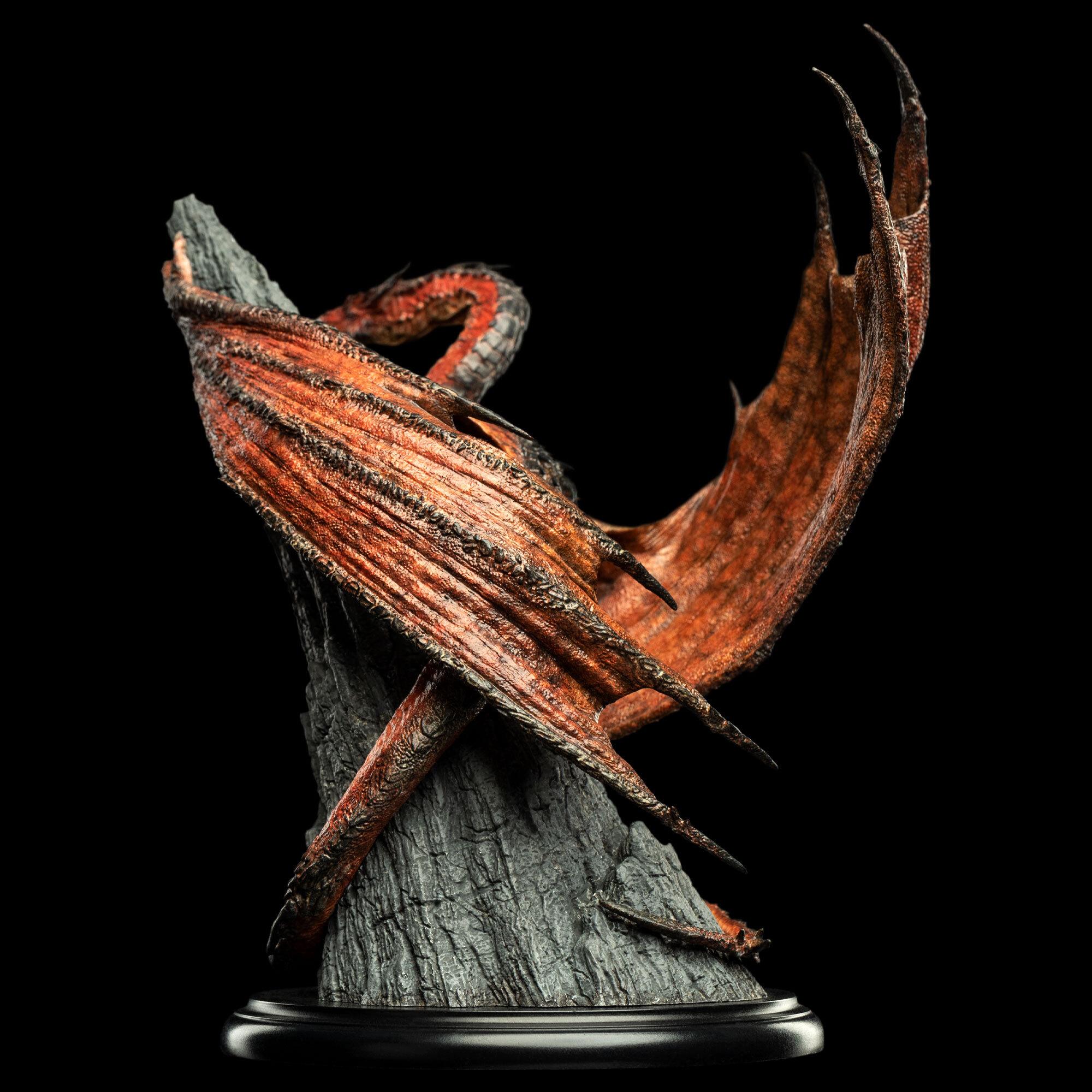 Link a Weta Workshop – Smaug – The Hobbit – Miniature Statue – (5)