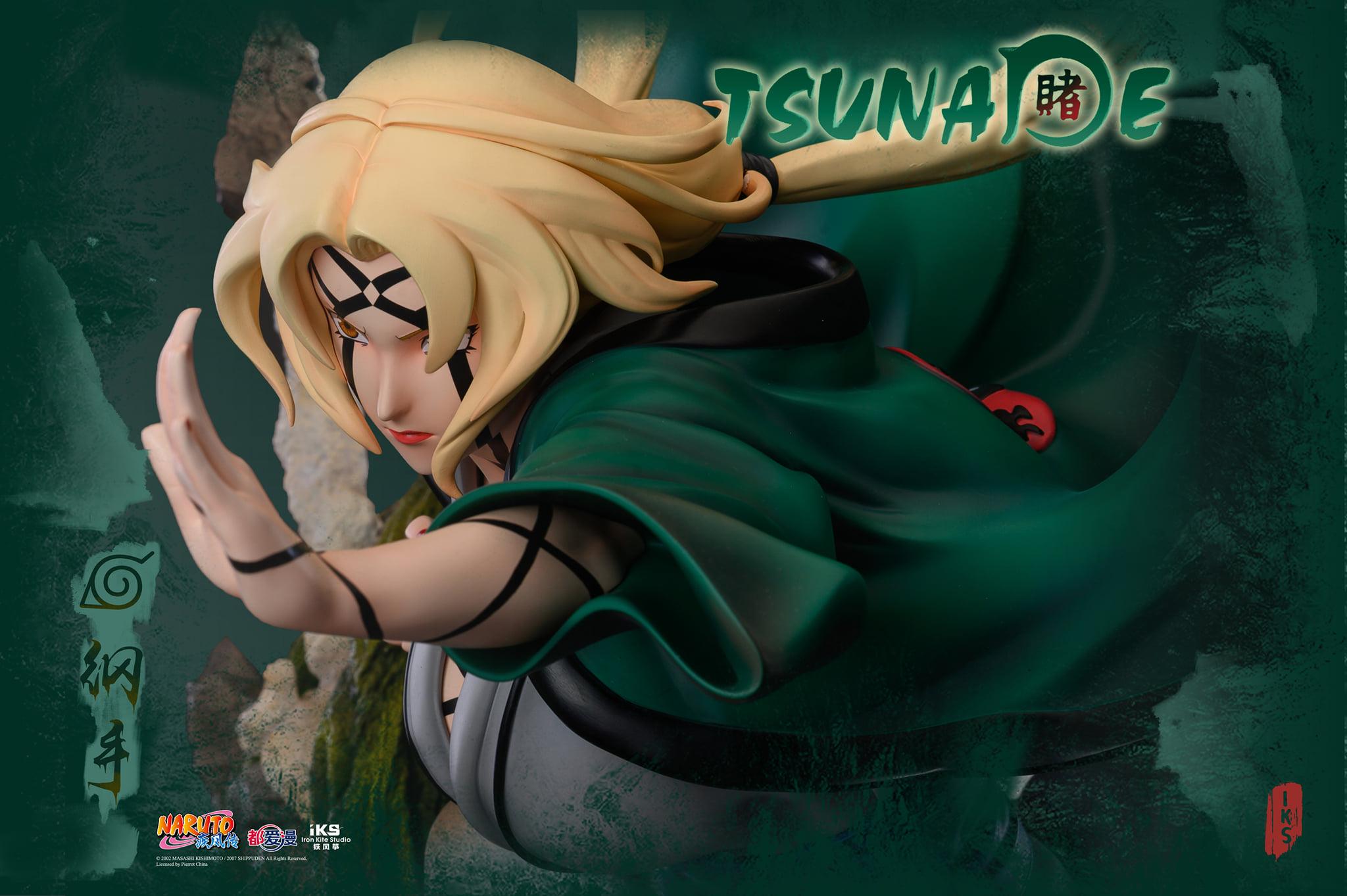 Link a Iron Kite Studio Tsunade Naruto Statue – (2)