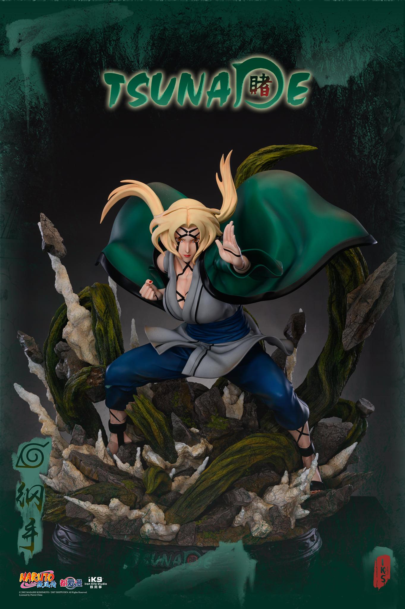 Link a Iron Kite Studio Tsunade Naruto Statue – (7)