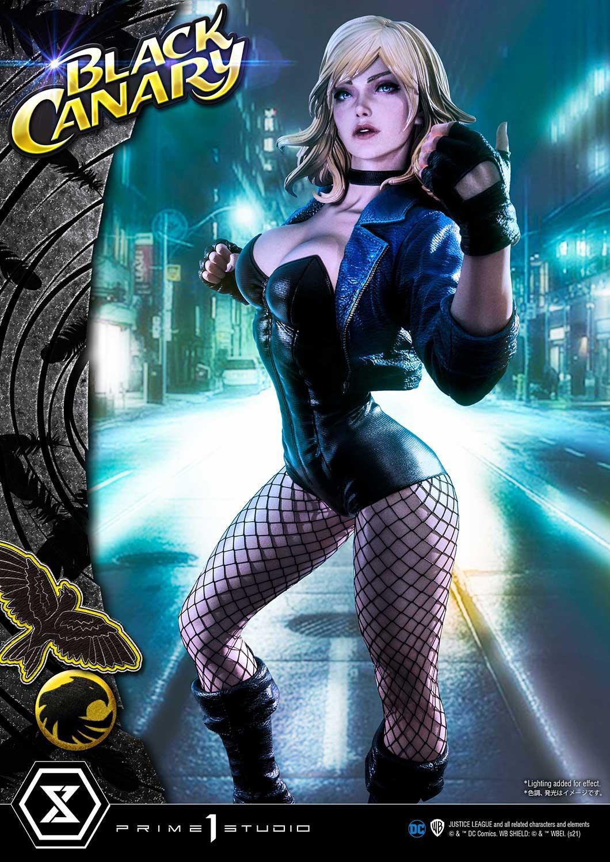 Link a Prime-1-Studio-Black-Canary-DC Comics-Statue- (1)