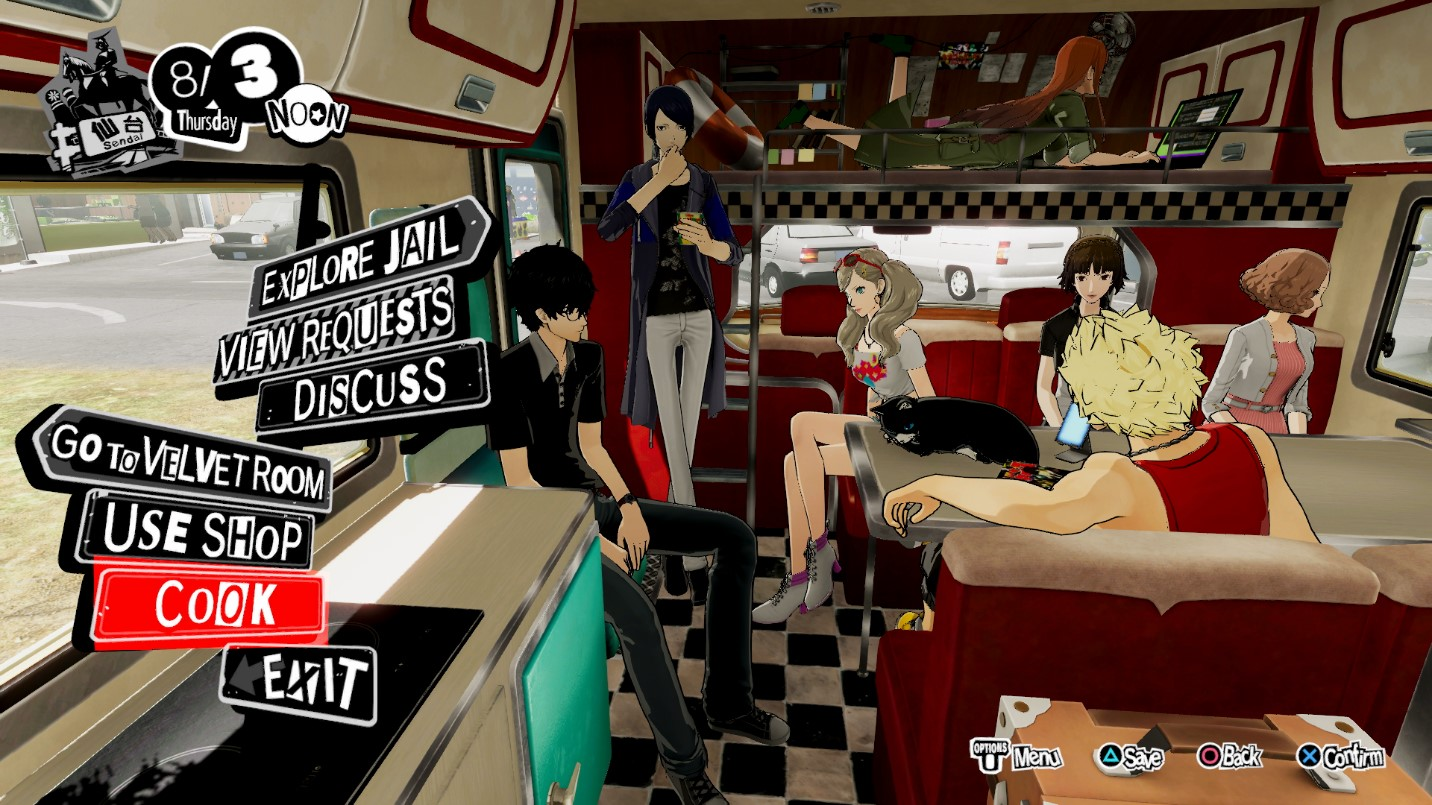 Link a persona 5 strikers – 5