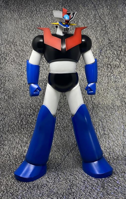 Link a Big Size Soft Vinyl Figure Mazinger Z Repaint ver – JUNGLE – (3)