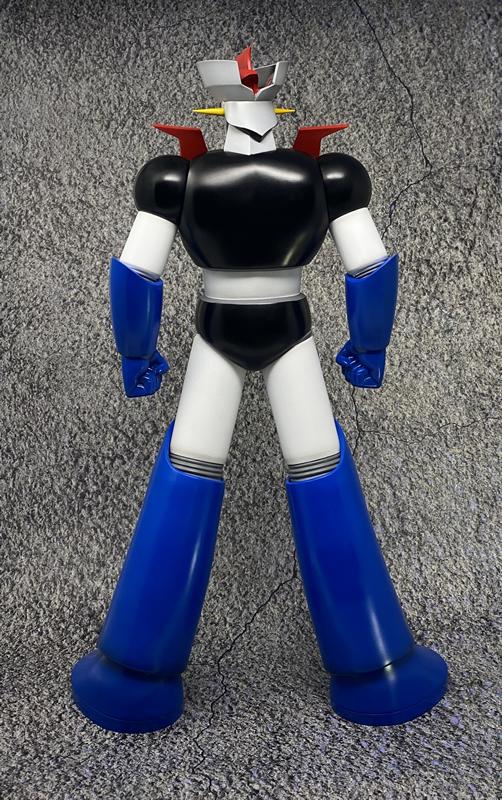 Link a Big Size Soft Vinyl Figure Mazinger Z Repaint ver – JUNGLE – (6)