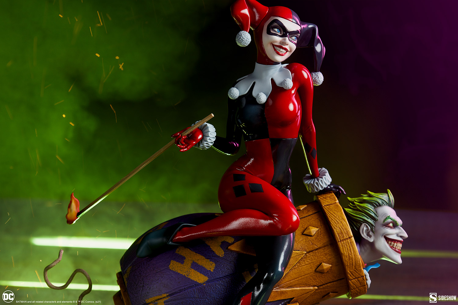 Link a Harley-Quinn-and-The-Joker-Diorama-Sideshow-DC-Statue- (20)
