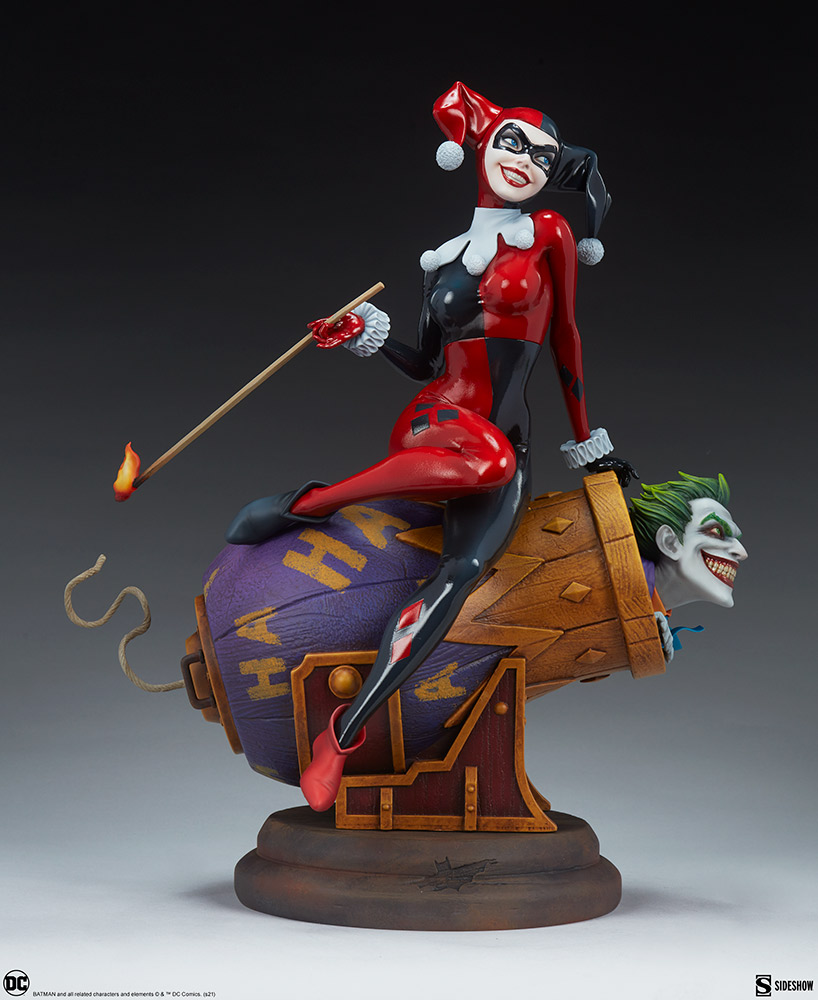 Link a Harley-Quinn-and-The-Joker-Diorama-Sideshow-DC-Statue- (7)