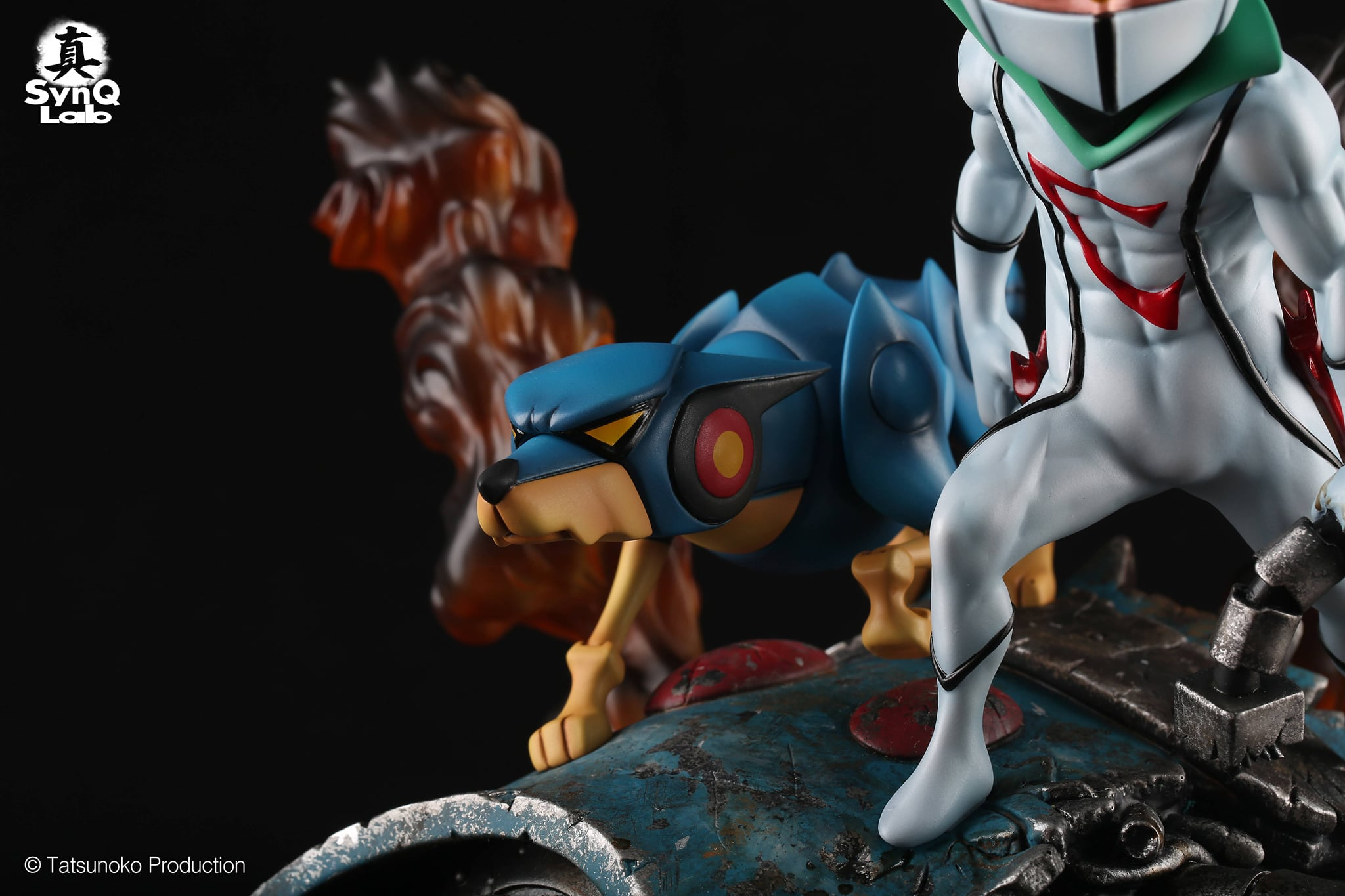 Link a Kyashan_SD Collectible Statue_SynQ-Lab- (11)